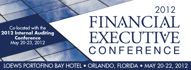 2012 Financial Executive Conference