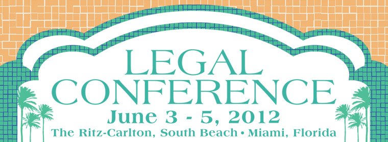 2012 Legal Conference