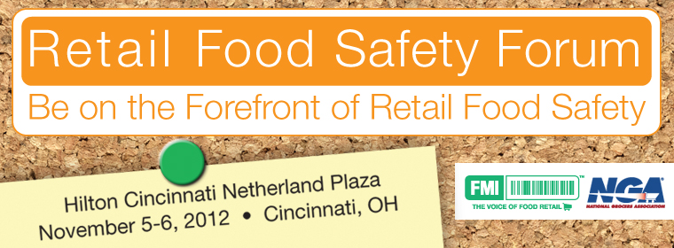 2012 Retail Food Safety Forum