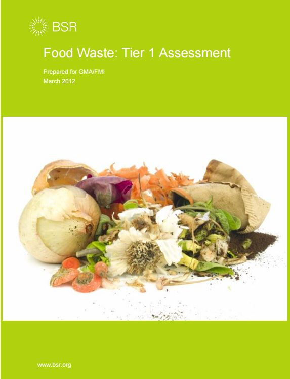 Food Waste Tier 1 Assessment
