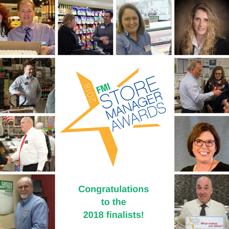 2018 Store Manager Award Finalists
