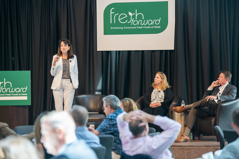 mg-caption: Gigi Vita, vice president of Sales, Safe Quality Food Institute (SQFI) discusess the need to advance a culture of food safety in the fresh industry.