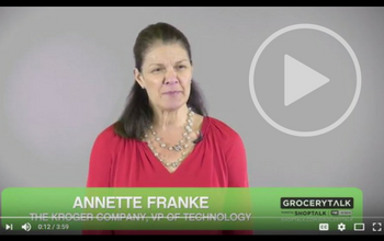 Annette Franke Kroger on technology in food retail