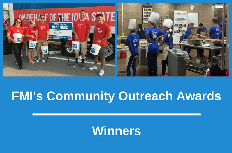 Community Outreach Awards Winners