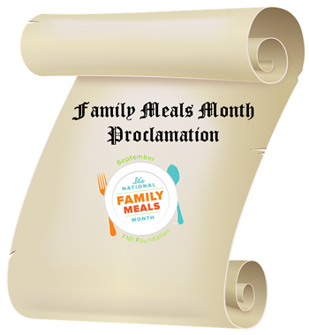 Family Meals Proclamation
