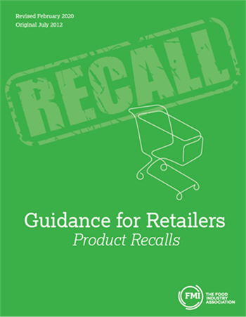 Guidance for Retailers- Product Recalls