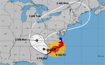 Hurricane Florence Friday