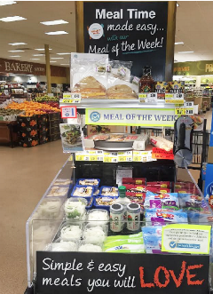 In Store National Family Meals Month