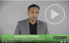 Narayan Iyengar Albertsons on Meeting the Digital Shopper