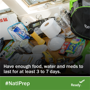 National Preparedness Month image