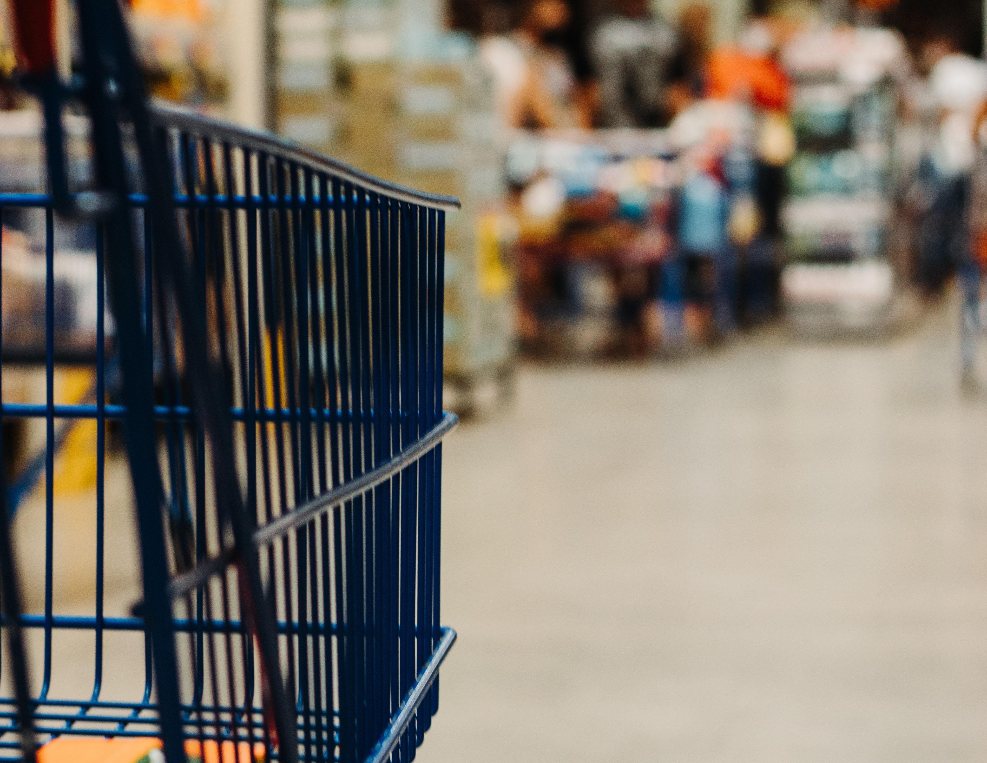 new twist grocery cart