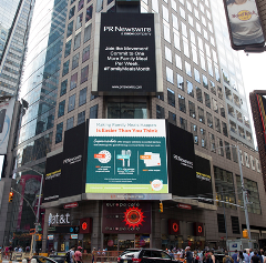 NFMM in Time Square