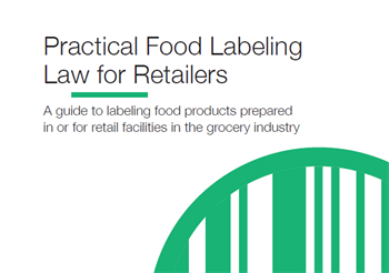 Practical Food Labeling Law 2018
