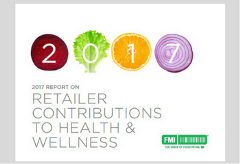 Retail Contributions to Health and Wellness 2017 Report Cover