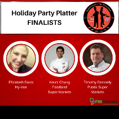 Supermarket Chef Holiday Party Platter Finalists