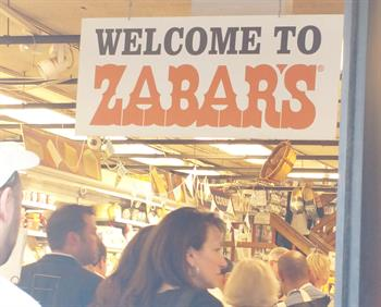 Welcome to Zabars