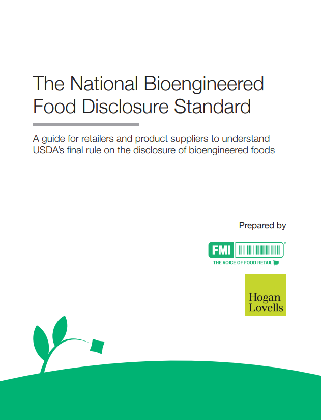 national bioengineered food disclosure standard