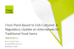 Plant based  to cell cultured webinar graphic