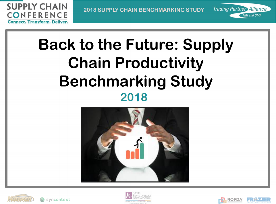 Supply Chain Conference Productivity Benchmark study presentation