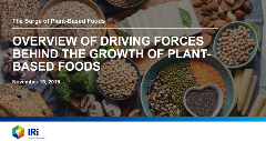 Surge in plant based foods