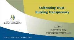 Building Culture of Transparency