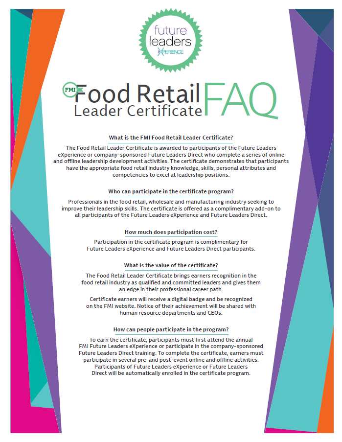 Food Retail leader