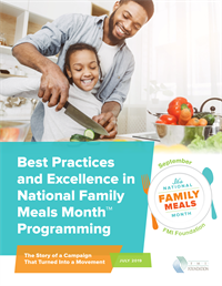 Best Practices in Family Meals Cover 2019