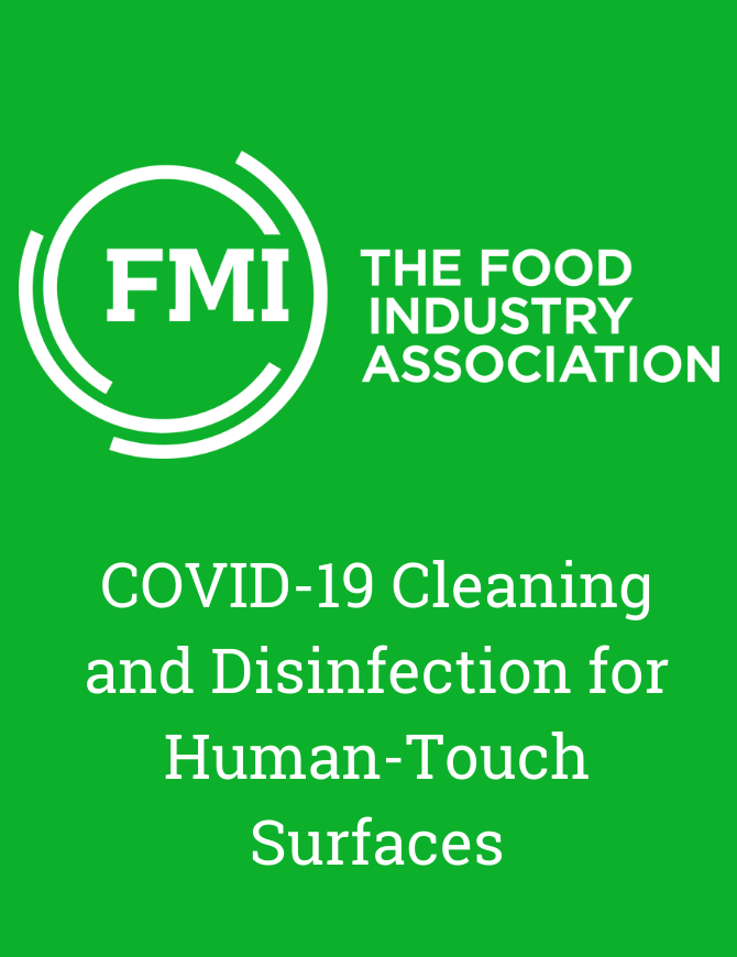 COVID-19 Cleaning and Disinfection for Human-Touch Surfaces