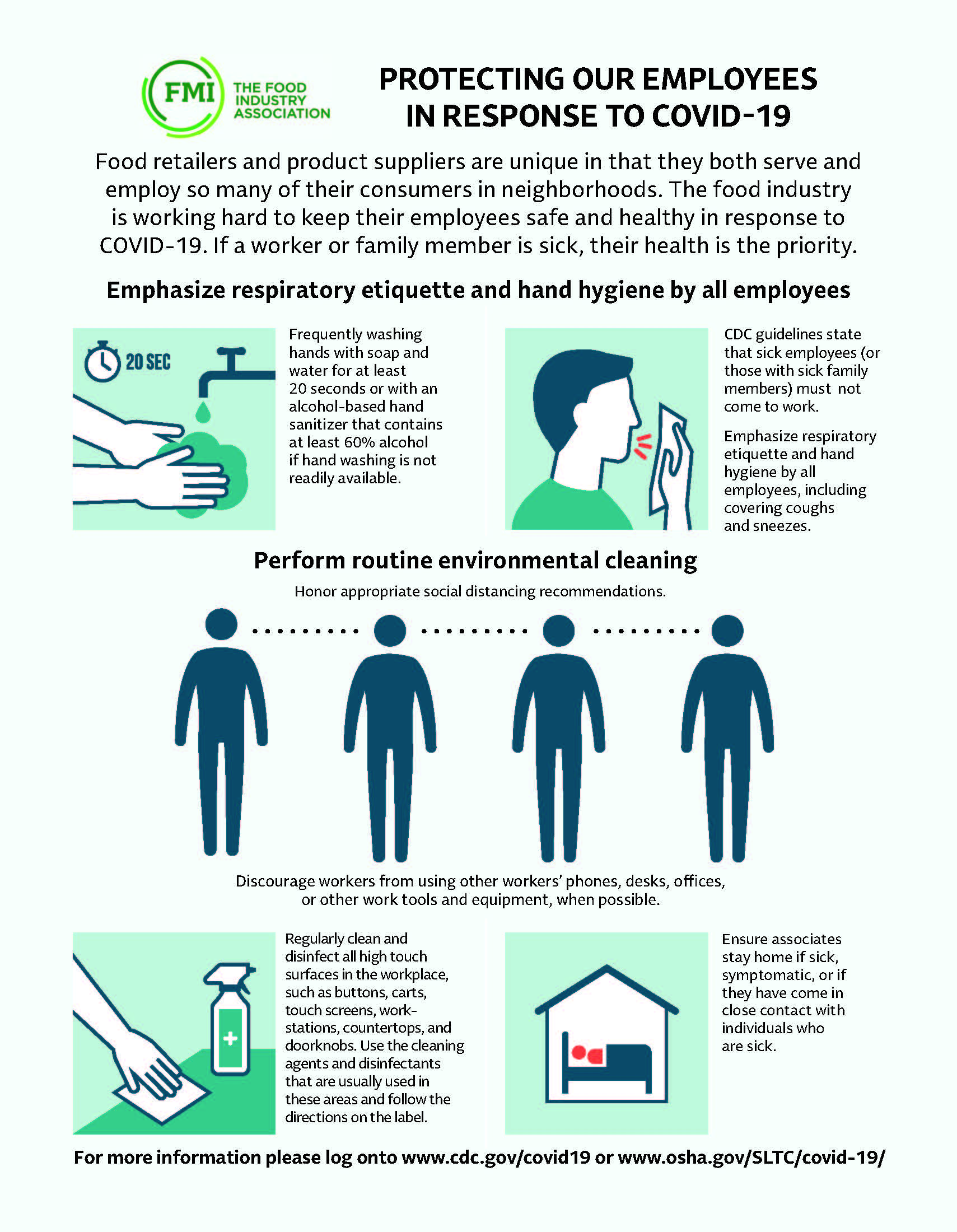 Employee Safety Infographic 3.25.20