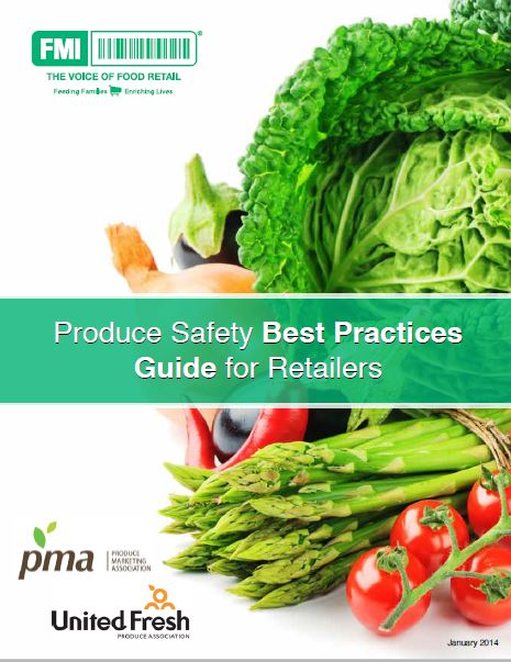 Produce Safety Best Practices cover