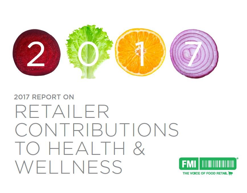 Retailer contributions to health wellness 2017 cover