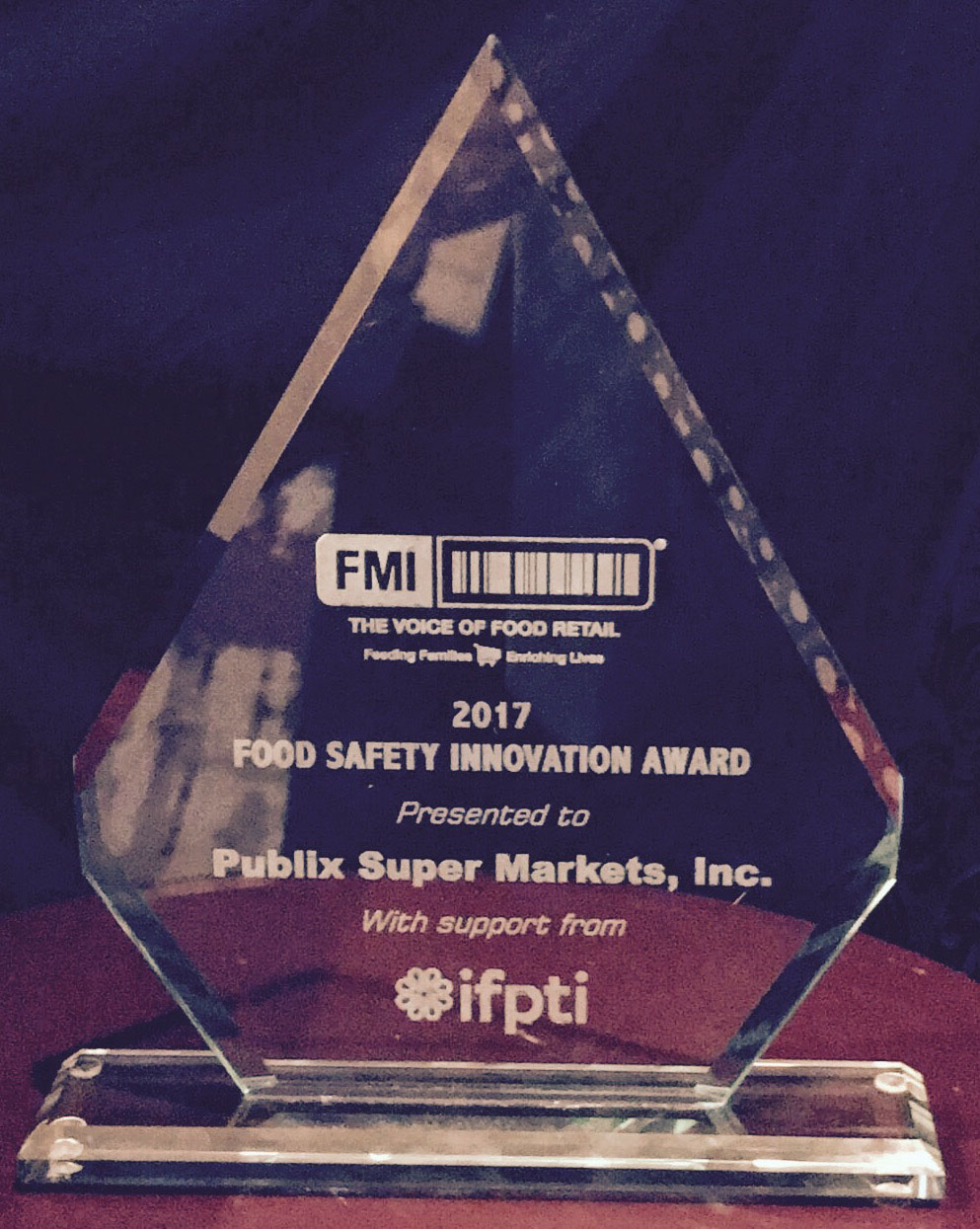 Food Safety Innovation Award