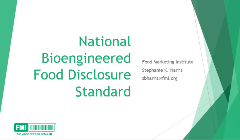 bioengineered food disclosure standard