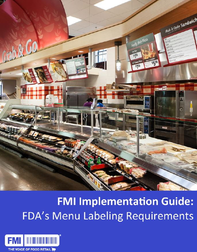 Menu Labeling Implementation Guide March 2017