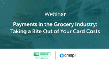 payments in the grocery industry
