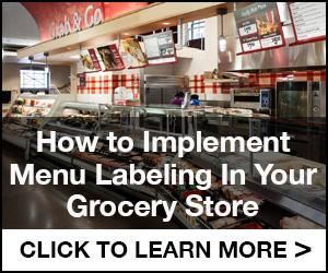 Menu Labeling Implementation Guide