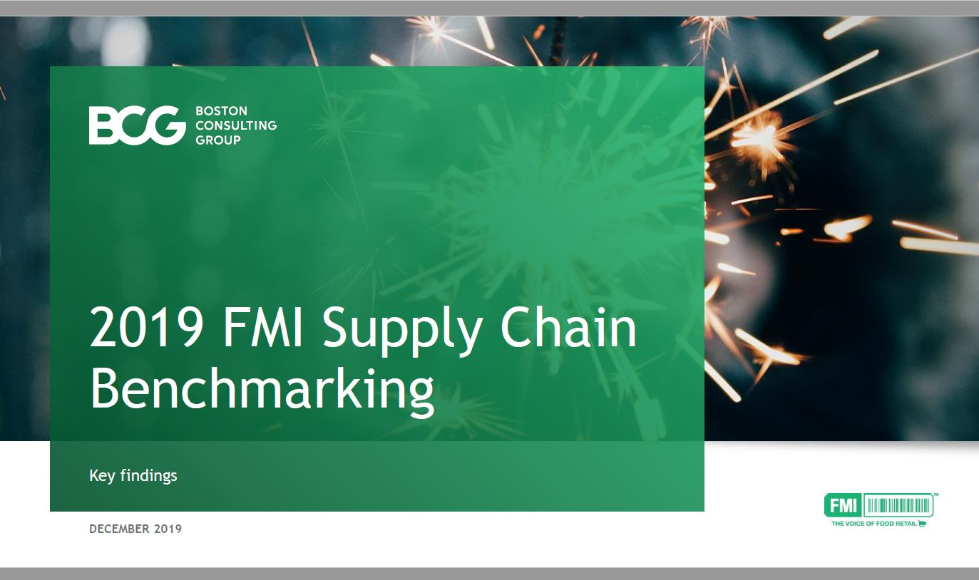 2019 Supply Chain Benchmarking