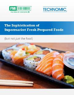 Cover Sophistication of the Supermarket Fresh Prepared Foods