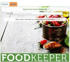FoodKeeper Database Image