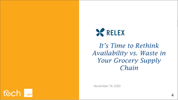 Relex Its time to rethink availability vs waste in your grocery supply chain