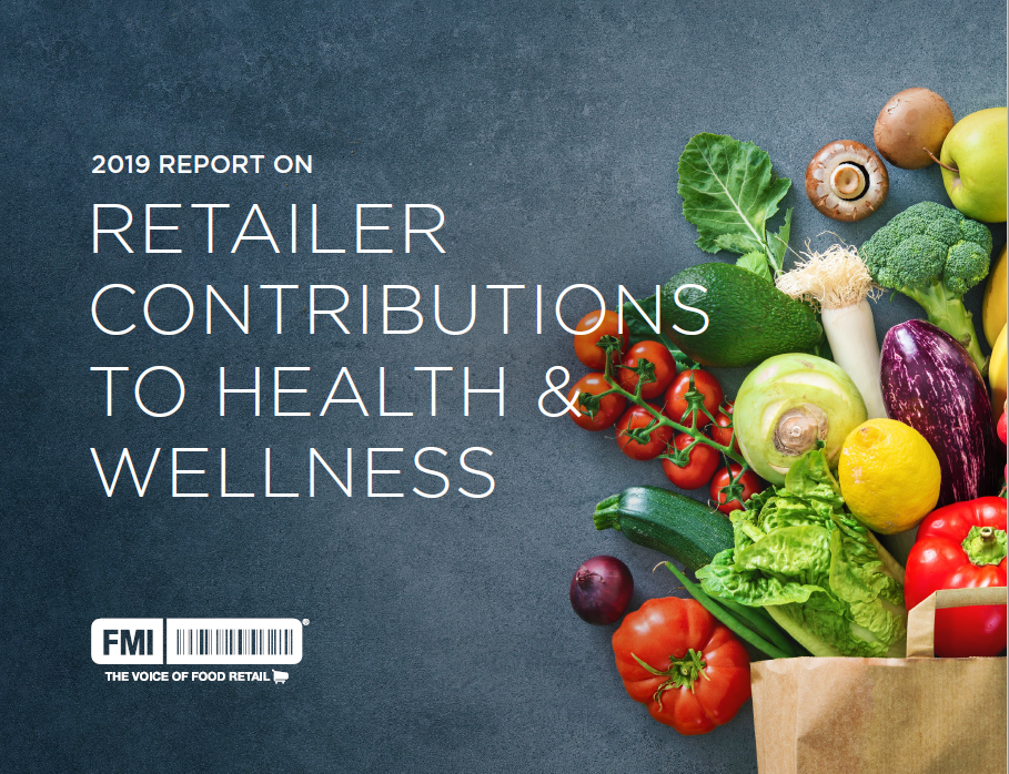 Retailer contributions to health wellness 2019