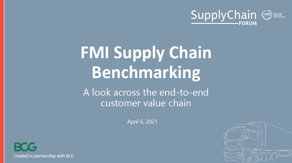 Supply Chain Benchmarking 2021