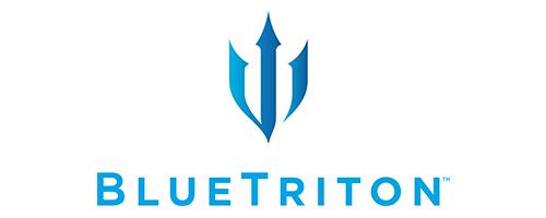 Blue Triton logo