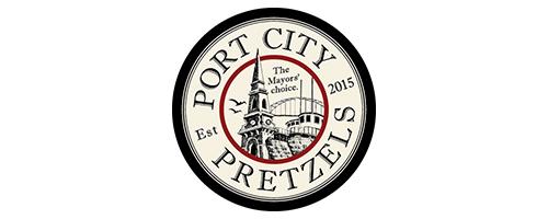 Port City Pretzels logo
