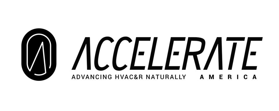 Accelerate America logo - in 5x2 Frame