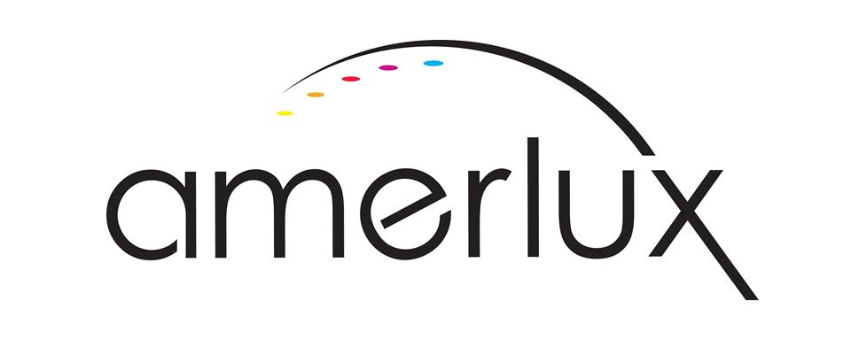 Amerlux logo - in 5x2 Frame