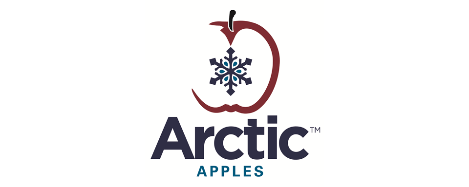 Arctic Apples logo - in 5x2 Frame
