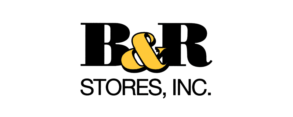 B&R Stores Inc logo - in 5x2 Frame