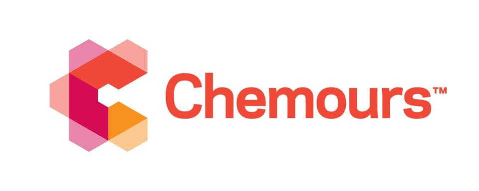 Chemours logo - in 5x2 Frame