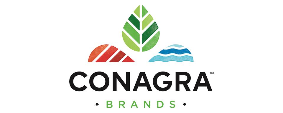 Conagra Brands Logo - 5x2 Border